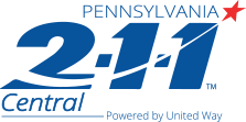 Pennsylvania 2-1-1 Central Powered by United Way