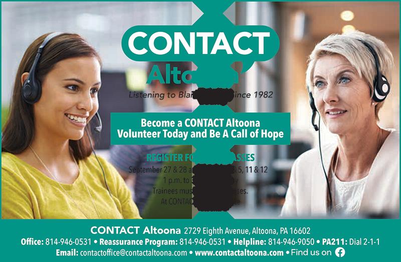 Volunteer Contact Altoona